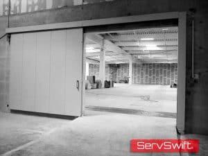 ServSwift Fire Sliding Door Installation