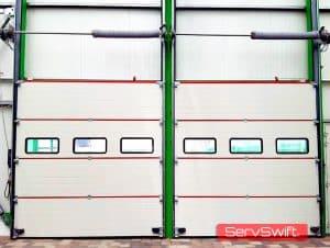 ServSwift Sectional Door Installation