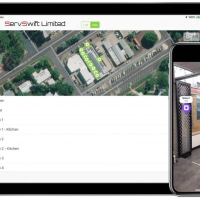 Door and Loading Bay Augmented Reality Portal ®ServSwift