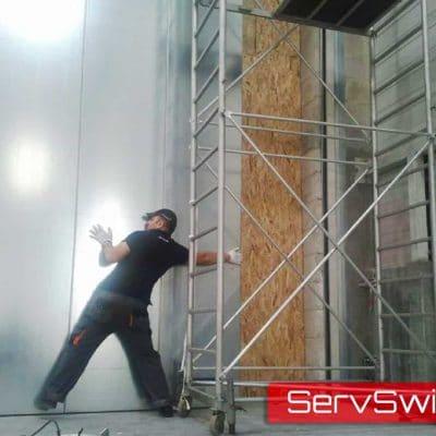 ServSwift Hormann Fire Sliding Door Installation